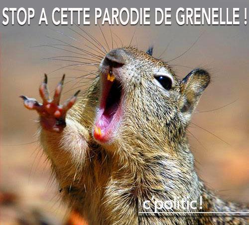 Non à cette parodie de Grenelle
