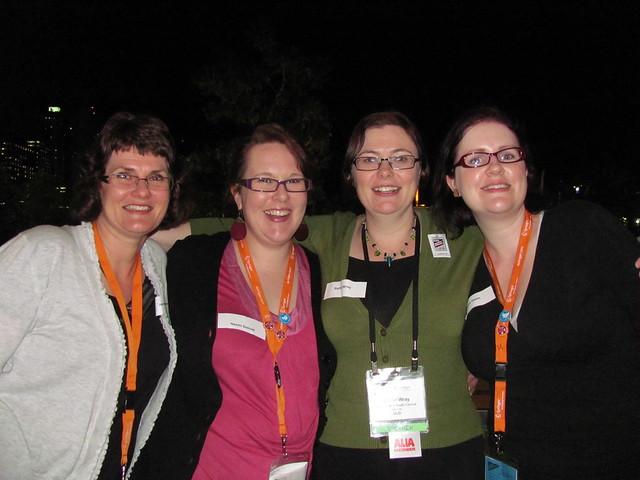 ALIA Access New Grads Stream Committee: Jo Beazley, Naomi Doessel (Co-coordinator), Rachel Wray (Co-coordinator), Bonnie Dixon