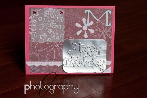 Maria's card