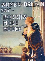 Borrow more books