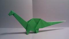 Apatosaurus by Yamada Katsuhisa