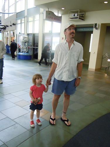 Entering the Aquarium with Robert
