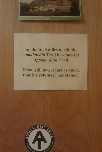 "It's ""Appalatchin,"" thank you very much."
