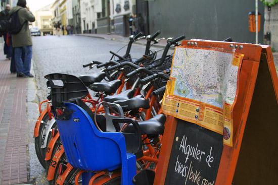 La Bicicleta Naranja's Map