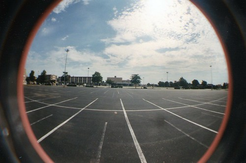 Riverdale Shopping Center, Hampton, VA Lomography Fisheye
