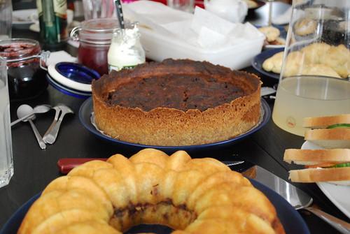 tea party spread