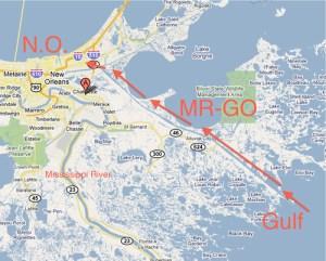 MR-GO New Orleans