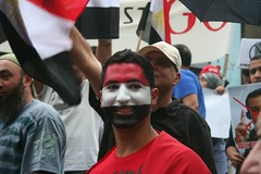 The face of Egypt - Egypt Uprising protest Mel...