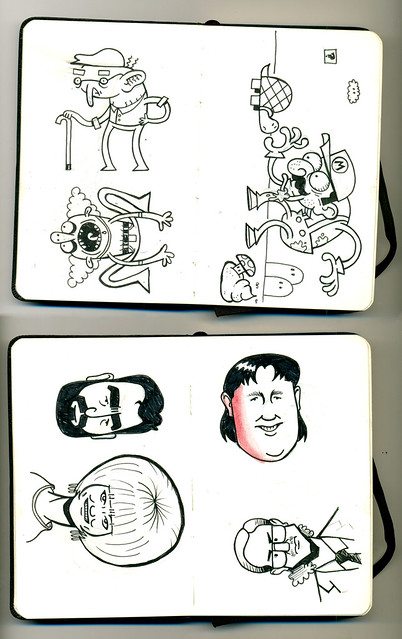 Mini sketchbook #02