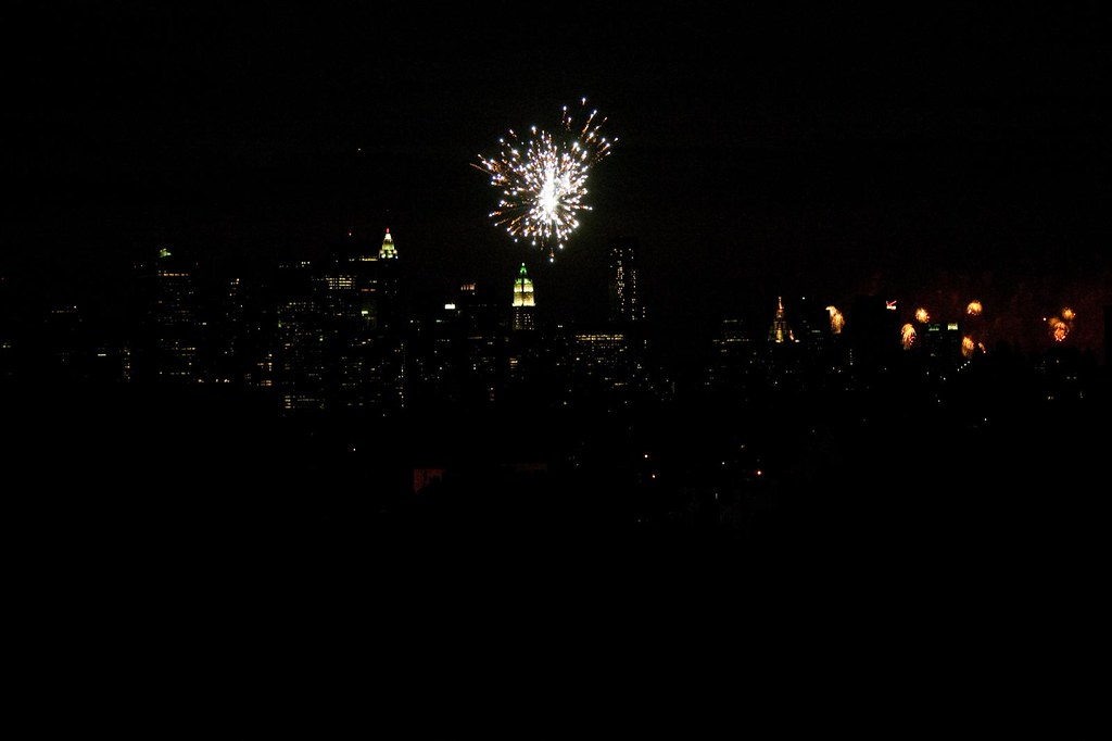 Macy's Fireworks from Brooklyn