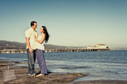Half Moon Bay Engagement Portraits