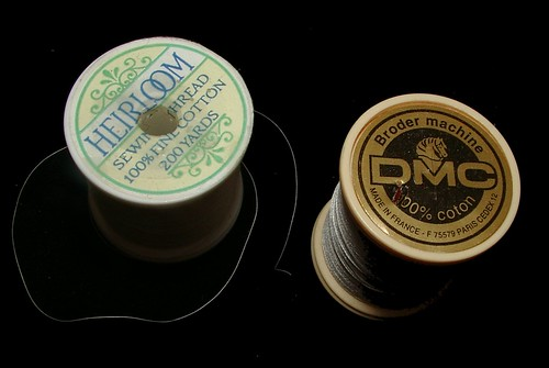 yli and dmc heirloom sewing thread