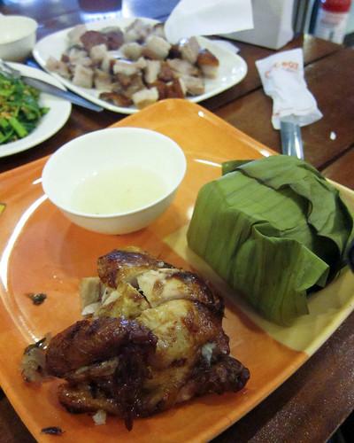 Cebu Lechon Manok Meal at Chic-Boy