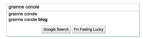 Google impact - grainne conole