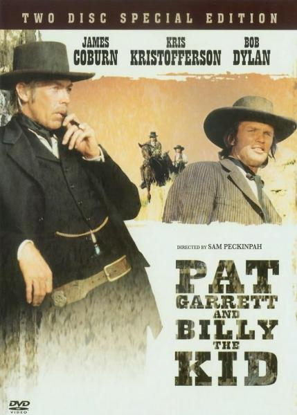 Pat Garrett and Billy the Kid DVD