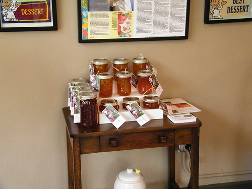Honey Display at Lily's Cookies