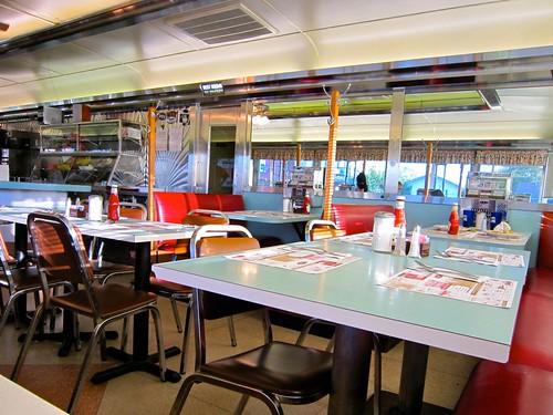 Mel's Diner Interior