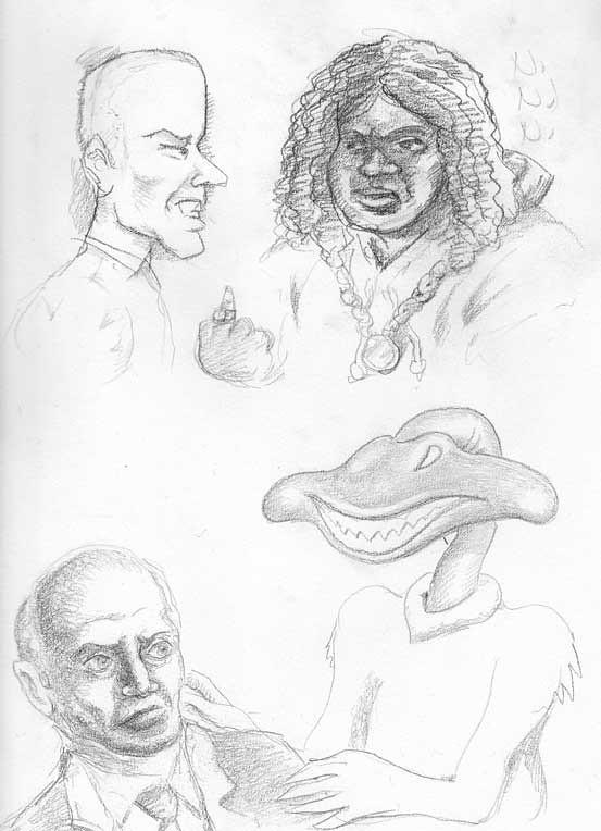 pencils-sketches