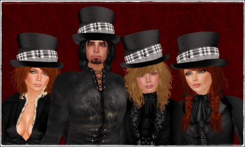 Hatpins - Jordan Top Hat - Family