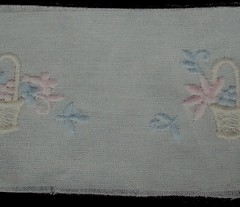 Swiss embroidery Insertion
