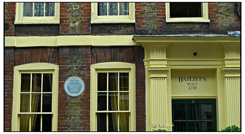 William Hazlitt Died Here 1830