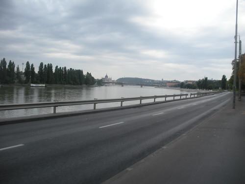 Entering Budapest