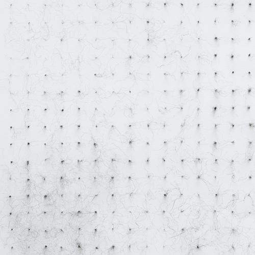 Detail: Wire on paper. 420x594mm. Nicci Haynes 2009