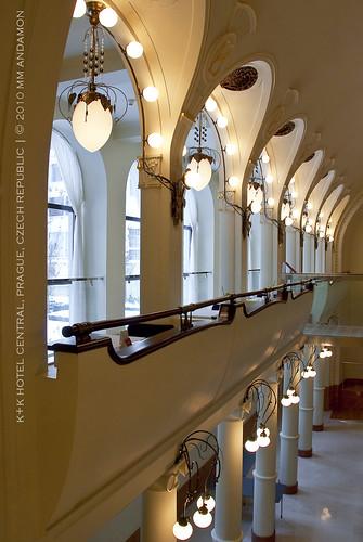 K+K Hotel Central interior details