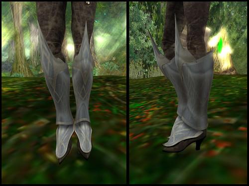 female caunataha - boots detail