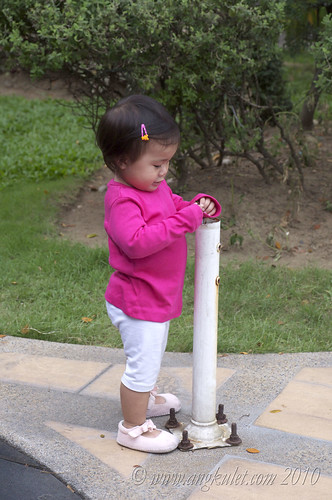 Lia's pole inspection