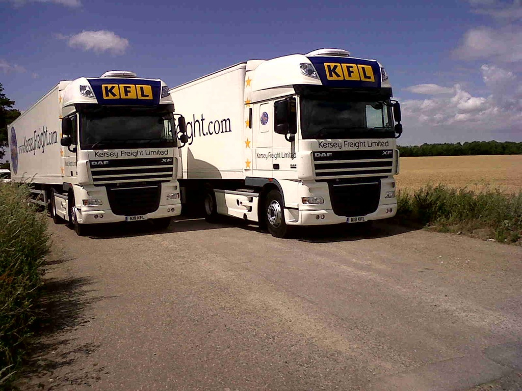 New Kersey Freight DAF's