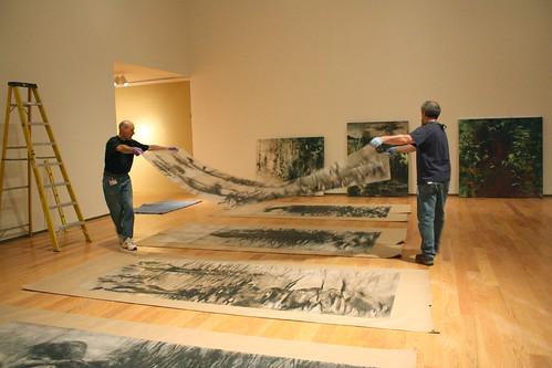 Davis Museum installation
