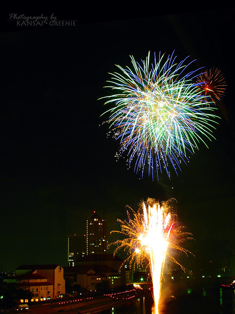 Takarazuka Fireworks 1
