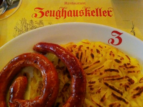Zeughauskeller restaurant