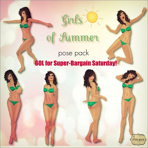Girls of Summer Pose Pack