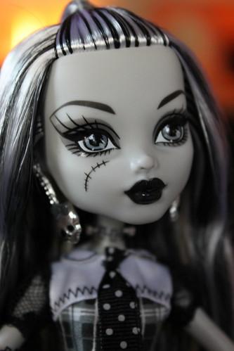SDCC B/W Frankie, Monster High