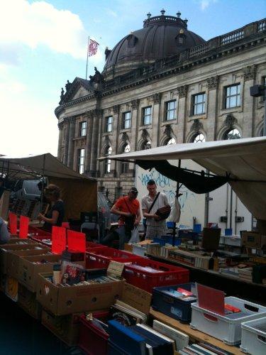 Berlin fleamarket - books etc.