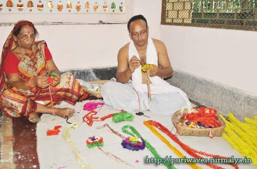 Rakhi For Lord Jagananth