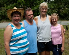 Lauri, Terry, Heidi, Hannah