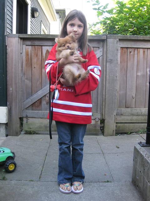 Team Canada & Puppy