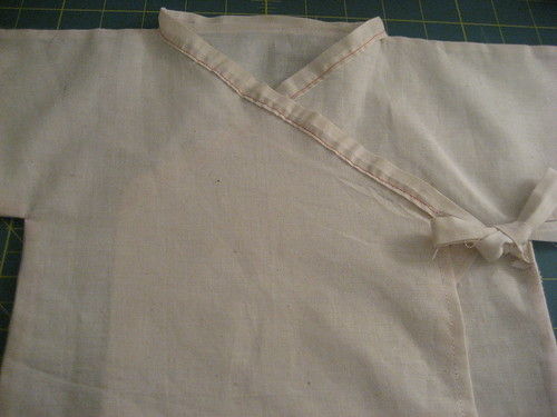 Sewing Project #4 - Baby Kimono Prototype 2