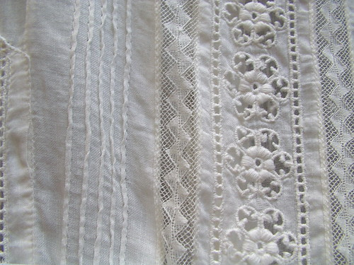 french lace and swiss embroidery
