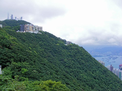 Picture from Victoria Peak In Hong Kong