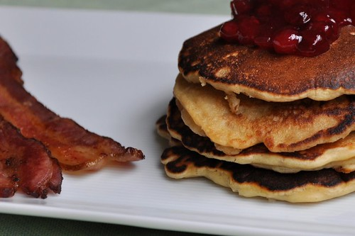 Oatmeal Pancakes from Good to the Grain
