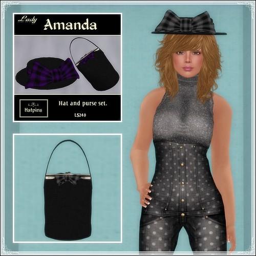 Hatpins - Lady Amanda