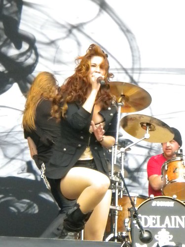 Delain live at Knebworth