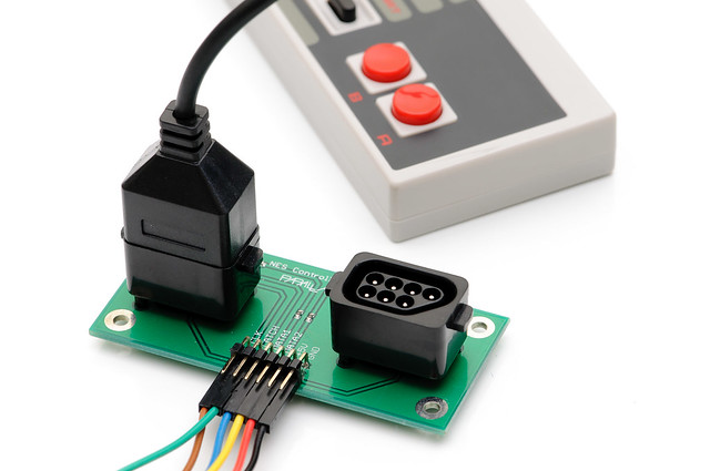 NES controller interface