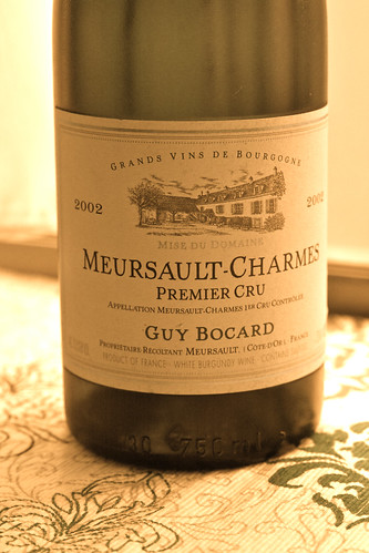 Meursault Charmes Guy Bocard 2002