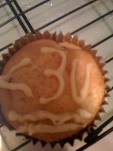 Less than Three Cupcake