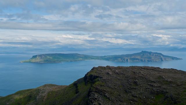 View to Eigg